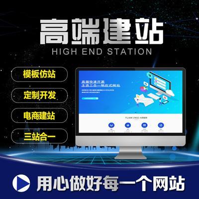 网站建设--营销型企业网站搭建网页设计